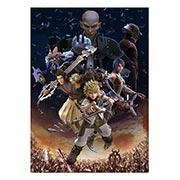 Купить панорамные постеры Kingdom Hearts