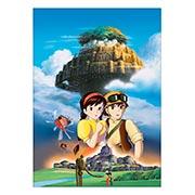 Панорамный постер по аниме/манге Laputa: The Castle in the Sky