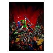 Панорамный постер по аниме/манге Legend of Zelda