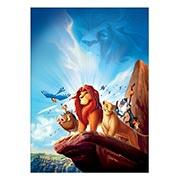 Панорамный постер Lion King
