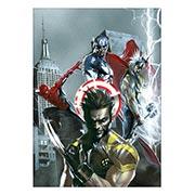 Купить панорамные постеры Marvel vs Capcom
