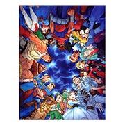 Панорамный постер Marvel vs Capcom