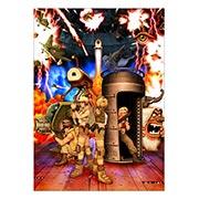 Панорамный постер Metal Slug