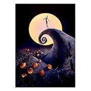 Купить панорамные постеры Nightmare Before Christmas