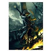Панорамный постер Pirates of the Caribbean