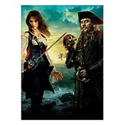 Купить панорамные постеры Pirates of the Caribbean