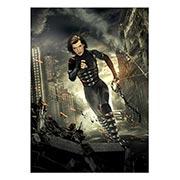 Панорамный постер Resident Evil