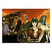 Панорамный постер Samurai Seven