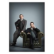 Купить панорамные постеры Sherlock BBC