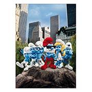 Панорамный постер Smurfs