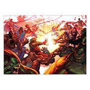 Панорамный постер Street Fighter