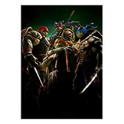 Панорамный постер Ninja Turtles