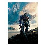 Панорамный постер по аниме/манге Transformers