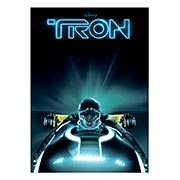 Панорамный постер Tron
