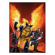 Панорамный постер X-Men