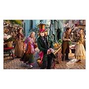 Неформатный постер по аниме/манге Alice in Wonderland. Размер: 100 х 60 см
