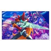 Неформатный постер Mega Man. Размер: 100 х 60 см