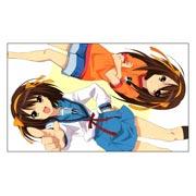 Купить неформатные постеры Melancholy of Haruhi Suzumiya