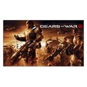 Неформатный постер Gears of War. Размер: 105 х 60 см