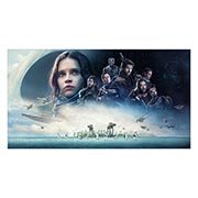 Неформатный постер Star Wars. Размер: 110 х 60 см