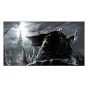 Неформатный постер Warcraft and World of Warcraft. Размер: 110 х 60 см