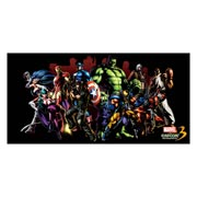 Неформатный постер Marvel vs Capcom. Размер: 120 х 60 см