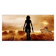 Неформатный постер Resident Evil. Размер: 120 х 60 см