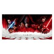 Неформатный постер по аниме/манге Star Wars. Размер: 120 х 60 см