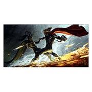 Неформатный постер Thor. Размер: 120 х 60 см