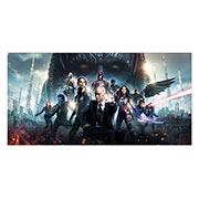 Неформатный постер X-Men. Размер: 120 х 60 см
