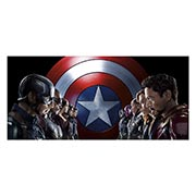 Купить неформатные постеры Captain America