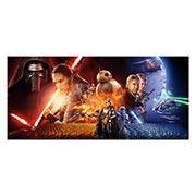 Неформатный постер Star Wars. Размер: 130 х 60 см