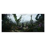 Неформатный постер по аниме/манге Alice in Wonderland. Размер: 140 х 60 см