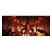 Неформатный постер Warcraft and World of Warcraft. Размер: 140 х 60 см