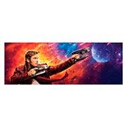 Неформатный постер по аниме/манге Guardians of the Galaxy. Размер: 170 х 60 см