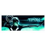 Неформатный постер Tron. Размер: 170 х 60 см