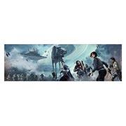 Неформатный постер по аниме/манге Star Wars. Размер: 190 х 60 см
