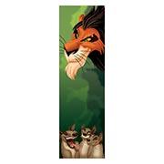 Неформатный постер Lion King. Размер: 30 х 100 см