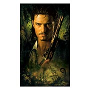 Неформатный постер Pirates of the Caribbean. Размер: 30 х 50 см