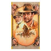 Неформатный постер Indiana Jones. Размер: 60 х 100 см
