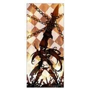 Неформатный постер Black Rock Shooter. Размер: 60 х 135 см