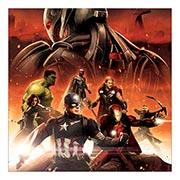 Купить неформатные постеры Avengers