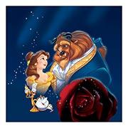 Неформатный постер Beauty and the Beast. Размер: 60 х 60 см