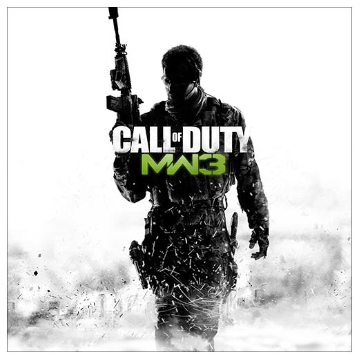 Неформатный постер Call of Duty. Размер: 60 х 60 см