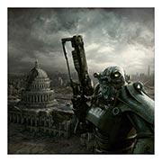 Купить неформатные постеры Fallout