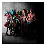 Неформатный постер по аниме/манге Guardians of the Galaxy. Размер: 60 х 60 см