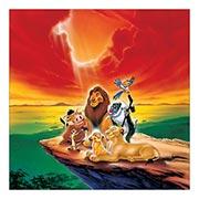 Неформатный постер Lion King. Размер: 60 х 60 см