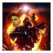 Неформатный постер Resident Evil. Размер: 60 х 60 см