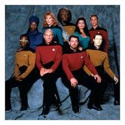 Неформатный постер Star Trek. Размер: 60 х 60 см