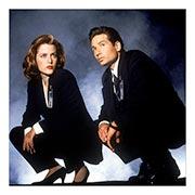 Неформатный постер X-Files. Размер: 60 х 60 см